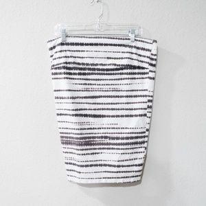 Torrid Tie Dye Cotton Pencil Skirt Size 0 White